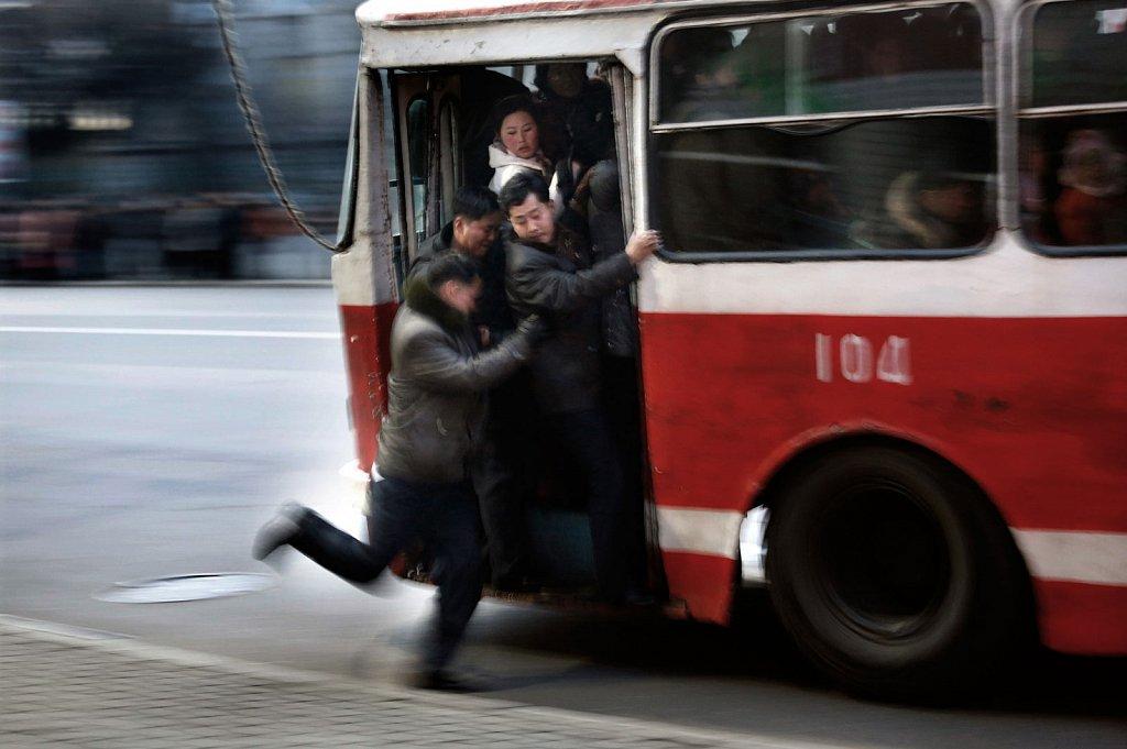 North Korean Buses